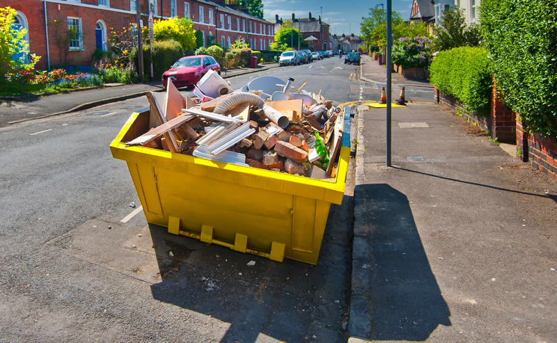 skip bin hire for moving