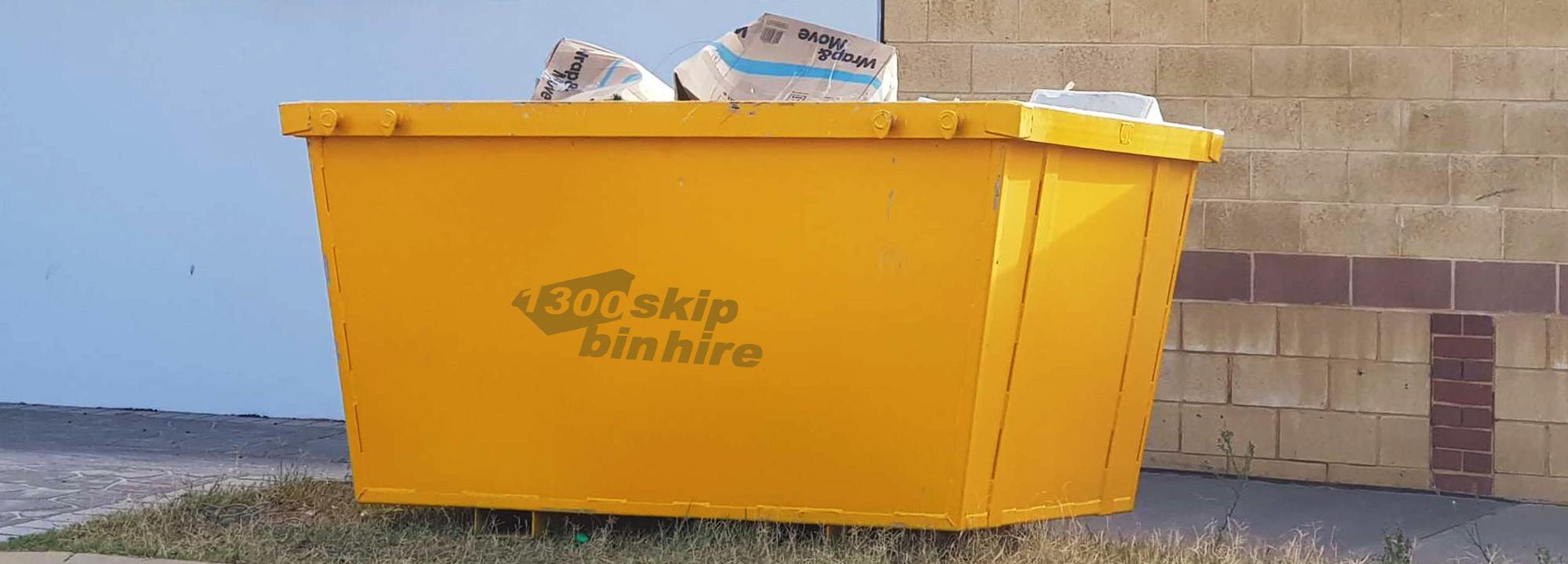 Affordable 1300 Skip Bin Hire