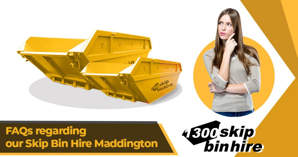 skip bin hire Maddington | skip bins Maddington